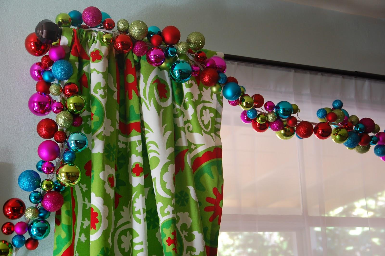 Adornos Para Decorar Cortinas En Navidad Hoy Lowcost