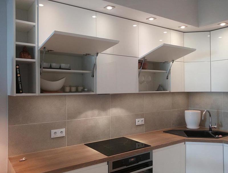 Dise os de cocinas peque as en 2018 ideas y consejos for Fotos de cocinas modernas 2015