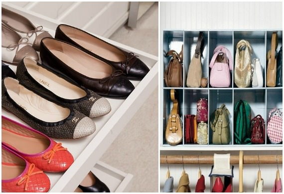 armarios organizacion zapatos y bolsos