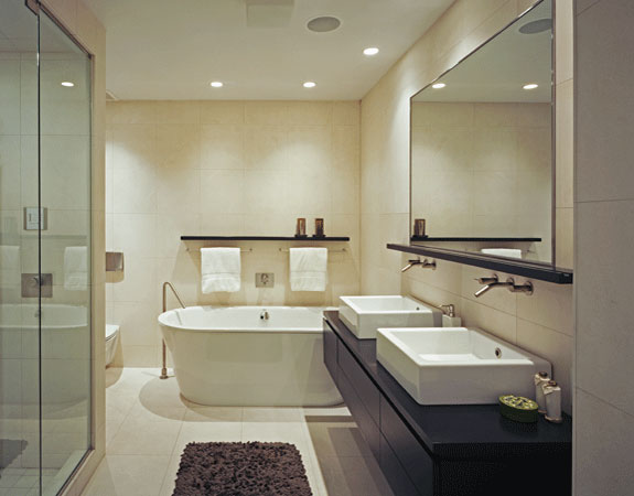 7 ideas para decorar cuartos de ba o modernos hoy lowcost for House washroom design