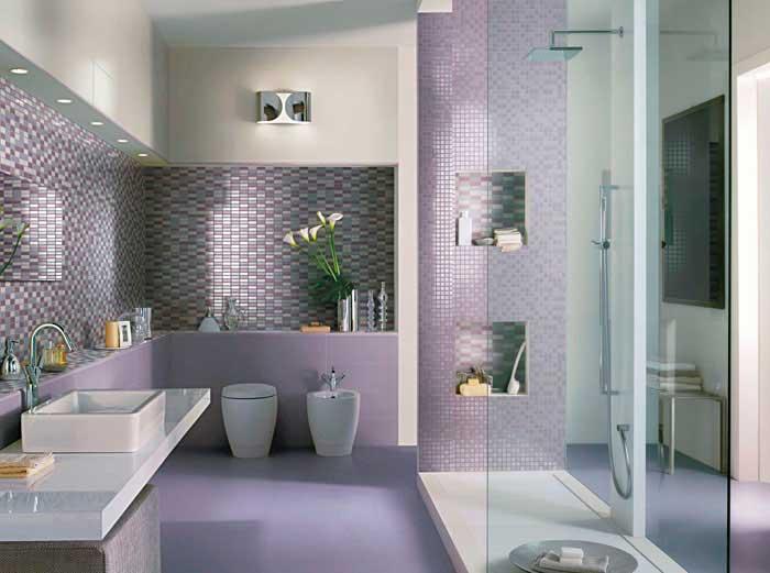 Bonito cuarto de bano moderno hoy lowcost - Decoracion cuartos de bano ...