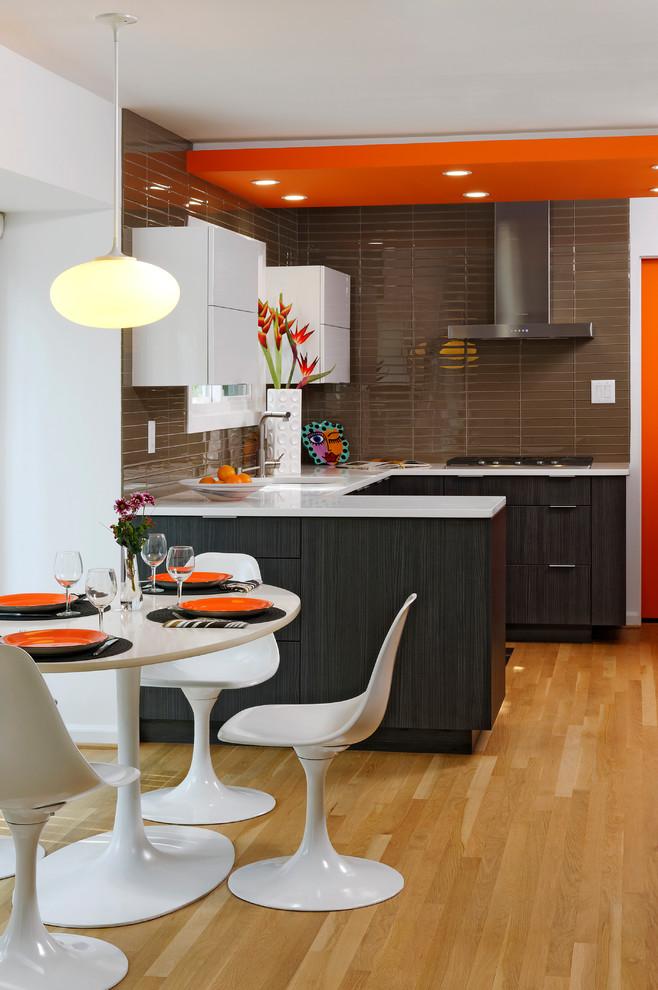 Dise os de cocinas peque as en 2018 ideas y consejos Modelos de cocinas modernas para espacios pequenos