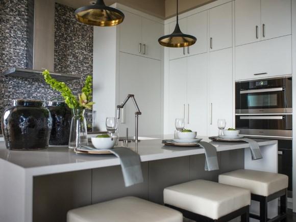 Dise os de cocinas peque as en 2018 ideas y consejos for Disenos de cocinas pequenas modernas