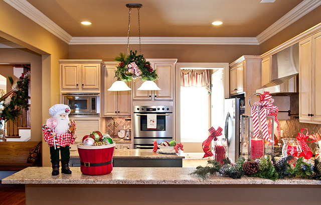 Como decorar una cocina en navidad en 2016 - Como adornar la casa en navidad ...