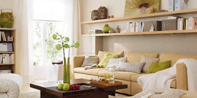 Consejos decoracion salones peque os modernos hoy lowcost for Salones pequenos ikea