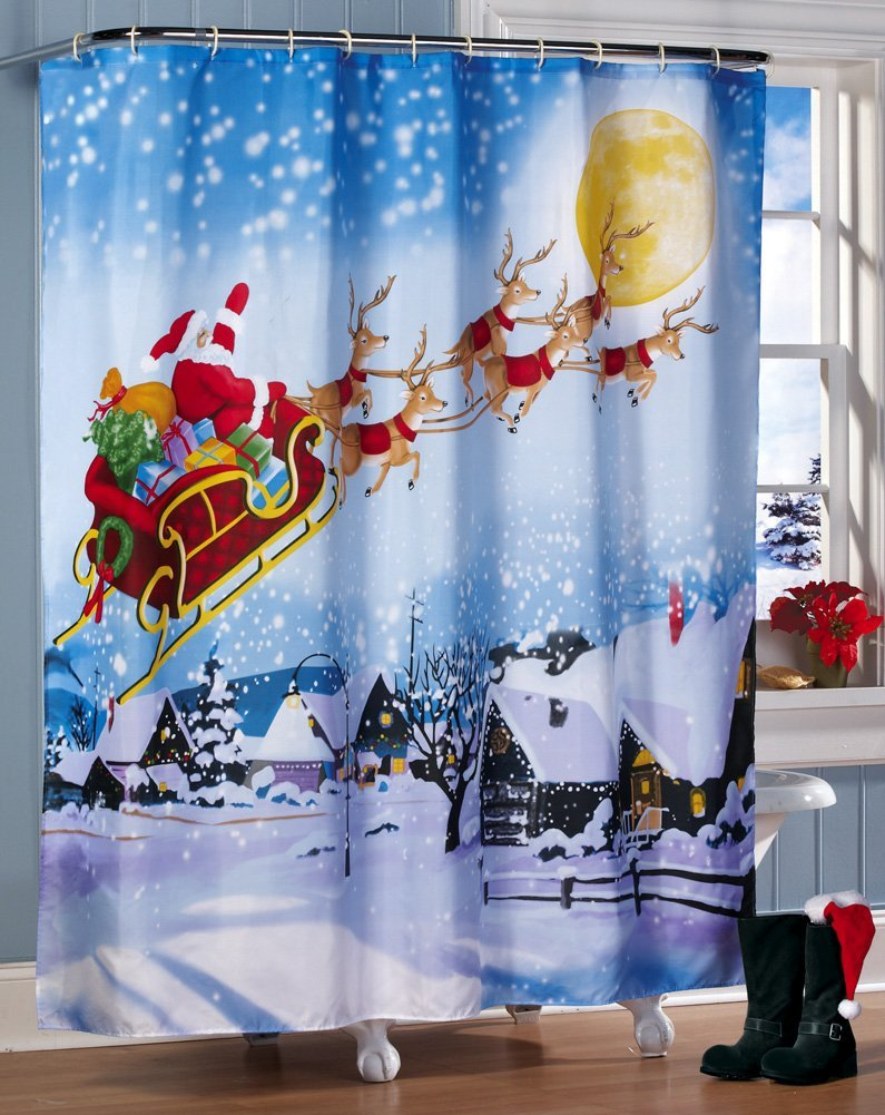 cortina navidad