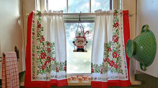 cortinas-de-cocina-en-navidad