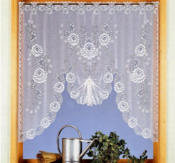 Cortinas estilo vintage shabby amazon hoy lowcost for Cortinas vintage