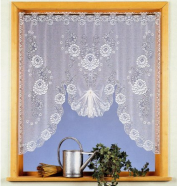 cortinas estilo vintage shabby Amazon