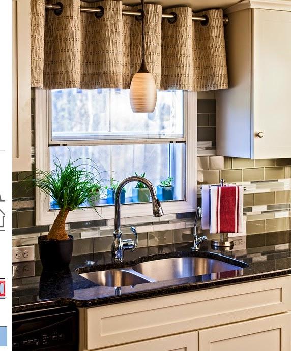 Ventanas para cocina finest ventana aluminio blanca for Cortinas cocina