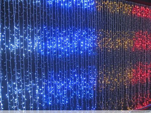 decorar cortinas para navidad