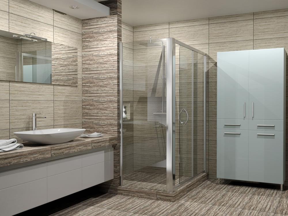 decoracion-banos-modernos-blanco-y-gris