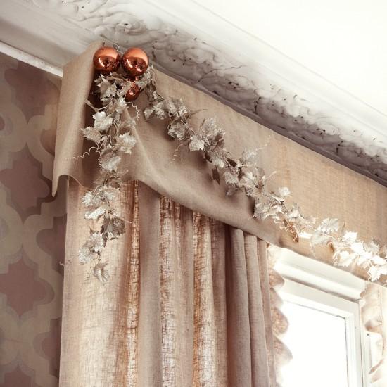 decoracion con accesorios en ventanas