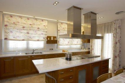 decoracion cortinas modernas para cocina - Cortinas Cocina Moderna