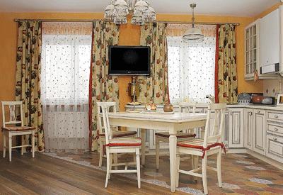 decoracion cortinas para cocinas vintage