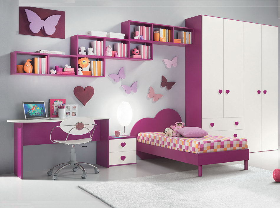 decoracion habitacion infantil para niña
