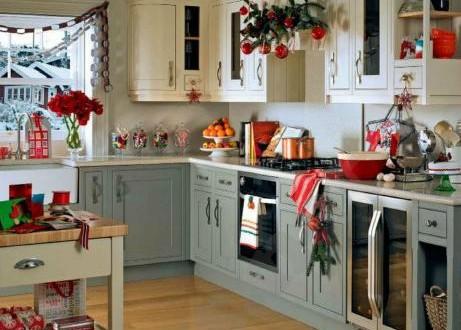 Decoracion navidad cocina hoy lowcost - Como decorar una cocina ...