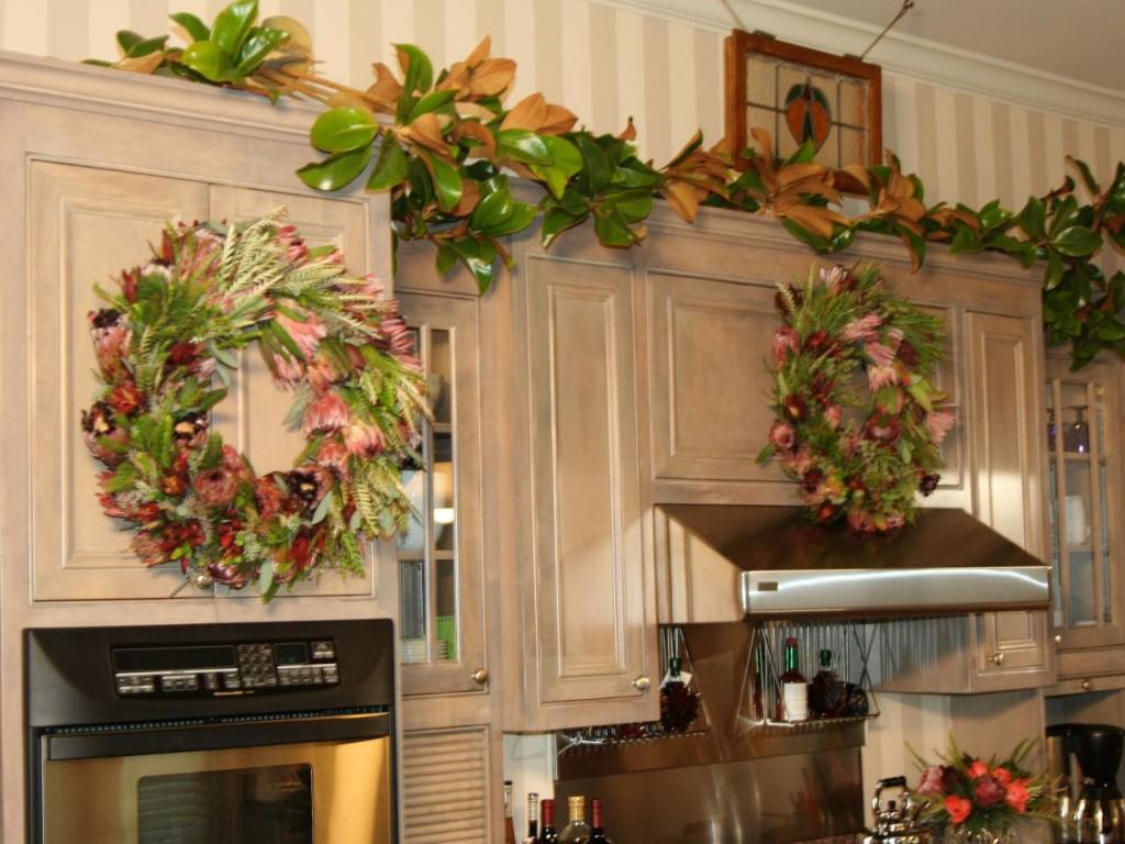 Como decorar una cocina en navidad en 2016 for Decoracion para pared cocina