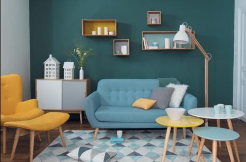 Decoracion salas de estar peque as baratas hoy lowcost - Decoracion sala de estar ...