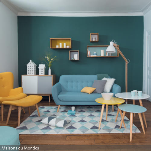 ideas de sala de estar marrón y amarillo DECORACIN DE SALONES PEQUEOS LA MEJOR PALETA DE COLOR