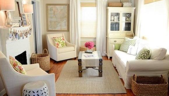 decoracion salon cuadrado estilo vintage - Decorar Salon Cuadrado