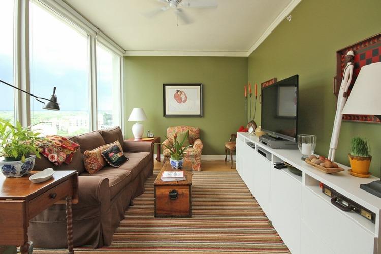 decorar salon pequeño alargado