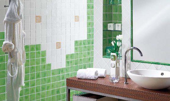 decorar-cuarto-de-bano-verde | Hoy LowCost