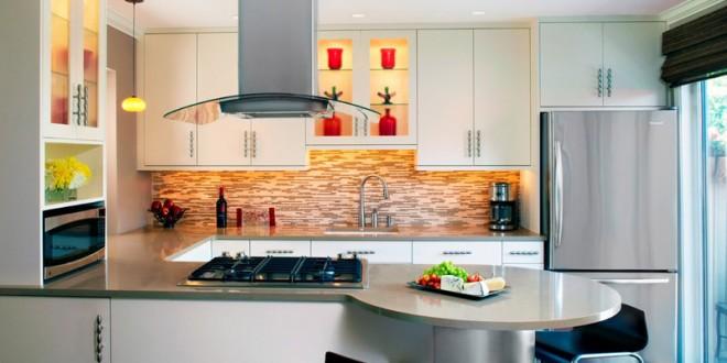 Dise o cocina americana moderno hoy lowcost - Cocinas diseno moderno ...