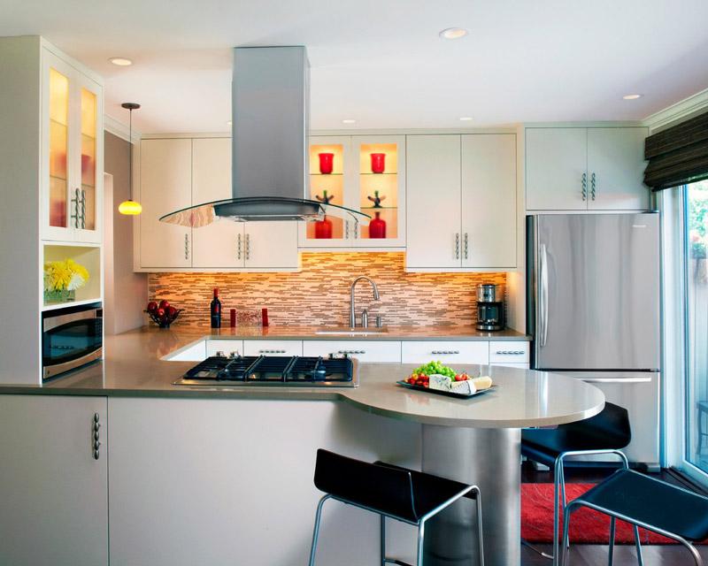 diseño cocina americana moderno