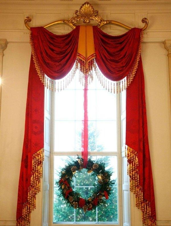 diseño de cortinas para navidad