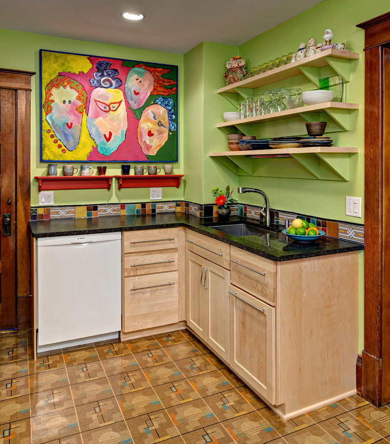 Dise os de cocinas peque as en 2018 ideas y consejos for Como decorar una cocina rustica pequena