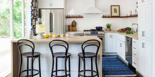 DISE\u00d1OS DE COCINAS PEQUE\u00d1AS en 2018. IDEAS Y CONSEJOS  Hoy LowCost