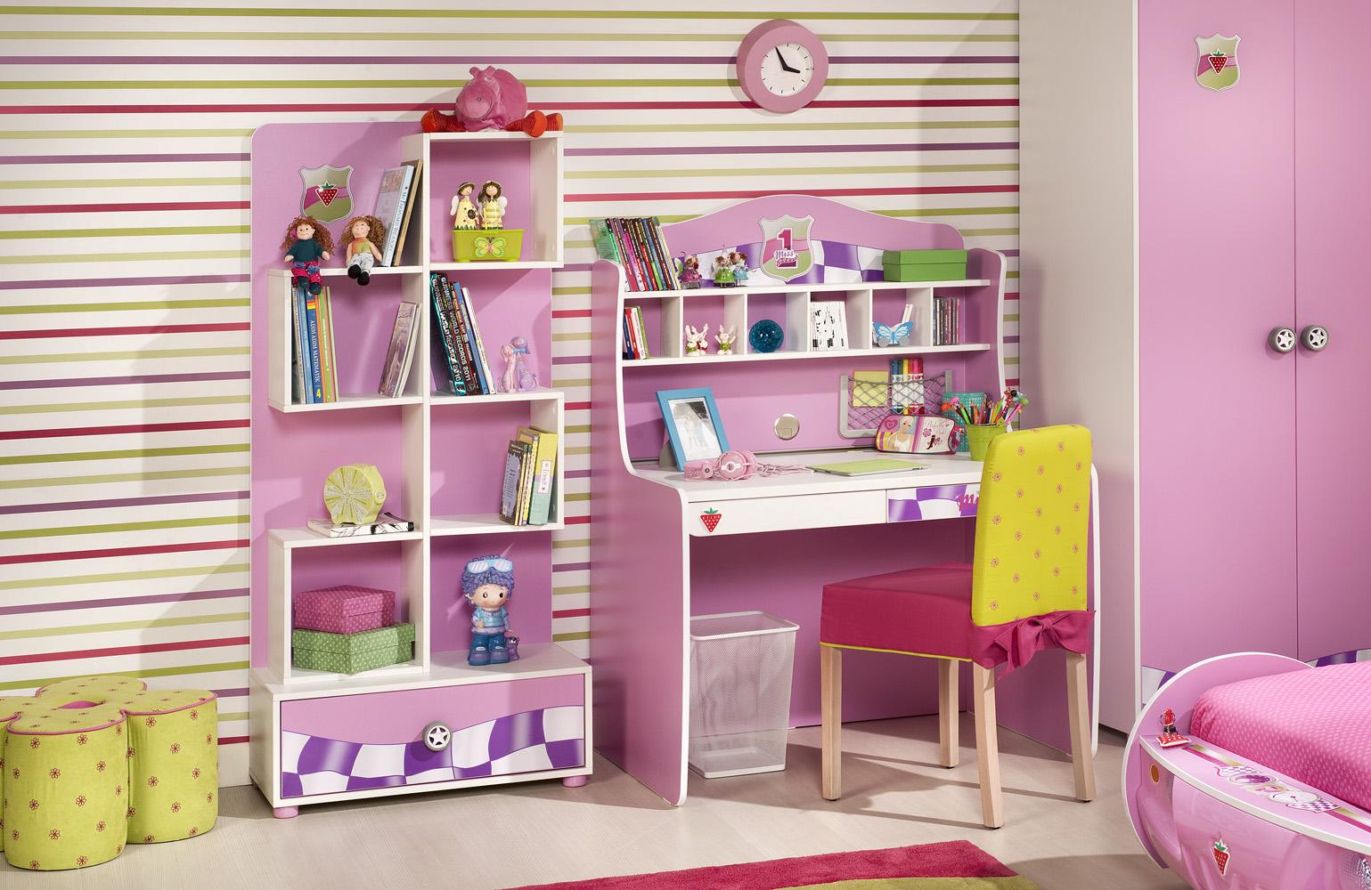 escritorio habitacion niña