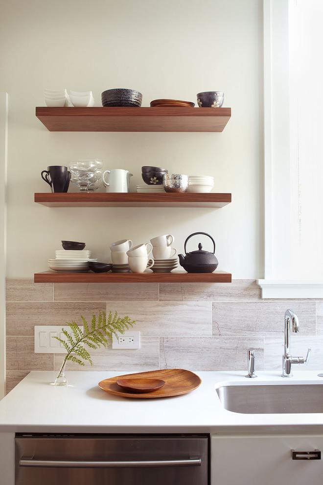 estantes cocinas diseño vertical