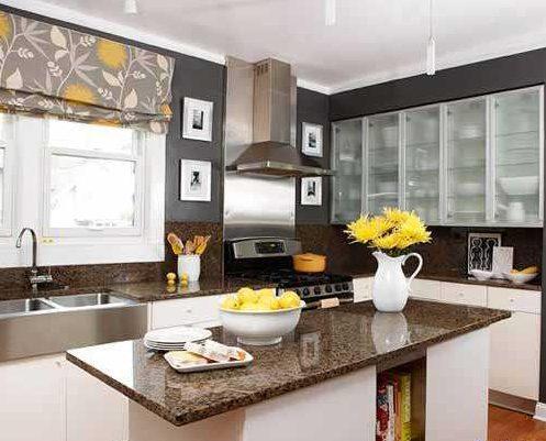 Como elegir las cortinas de cocina 2018 hoy lowcost for Decoracion de cocinas modernas fotos