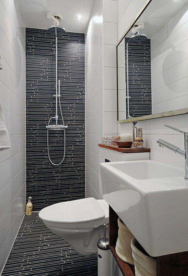duchas de obra en baños modernos