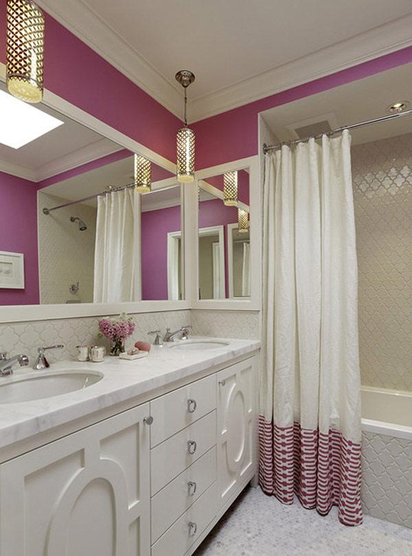 colores en baños modernos