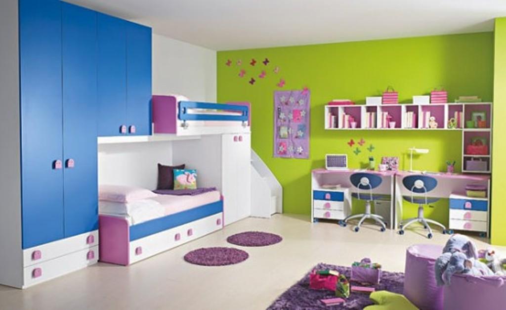 Habitaciones para ni os 7 pasos a seguir hoy lowcost - Dormitorios infantiles dobles ...