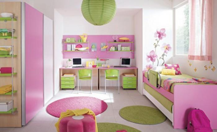 Superb Como Decorar Una Habitación Para Niños Múltiple. Habitacion Doble Rosa