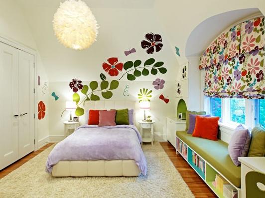 habitacion infantil con vinilos