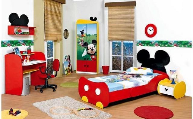 habitacion infantil disney
