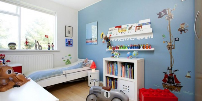 Habitacion infantil ni o pirata hoy lowcost - Habitacion infantil decoracion ...