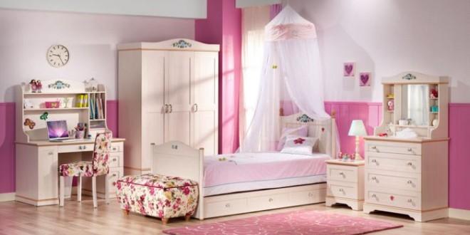 Habitacion infantil rosa hoy lowcost - Habitacion infantil rosa ...