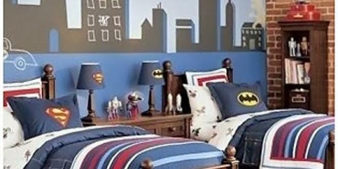 Habitaciones dobles superheroes hoy lowcost - Habitaciones infantiles dobles ...
