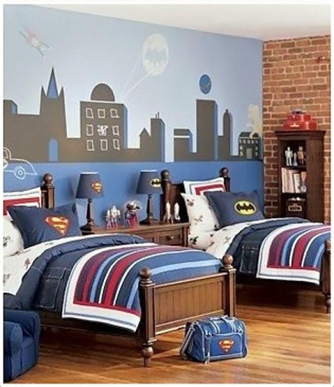 Attractive Habitaciones Dobles Superheroes