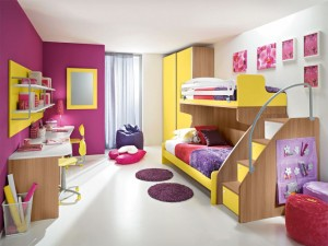 Habitaciones infantiles dobles decoracion hoy lowcost - Habitaciones infantiles dobles ...