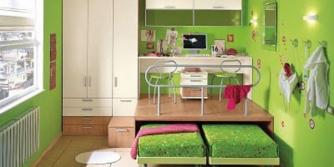 Habitaciones infantiles peque as hoy lowcost - Habitaciones infantiles compartidas pequenas ...