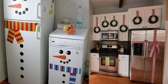 Como decorar una cocina en navidad en 2016 for Como armar mi cocina