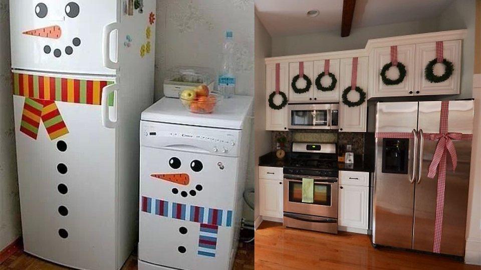 Como decorar una cocina en navidad en 2016 for Ideas para decorar la cocina