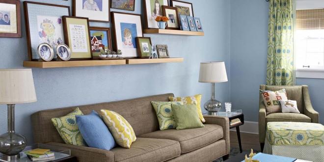Ideas decoracion cuadros salones peque os hoy lowcost - Decoracion salones pequenos ...